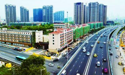 南京凤台南路景观整治初显成效 将成景观大道