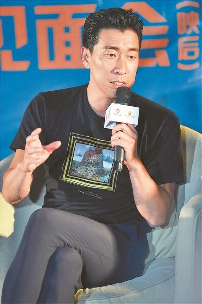 王千源:拍《破・局》是为了接近郭富城