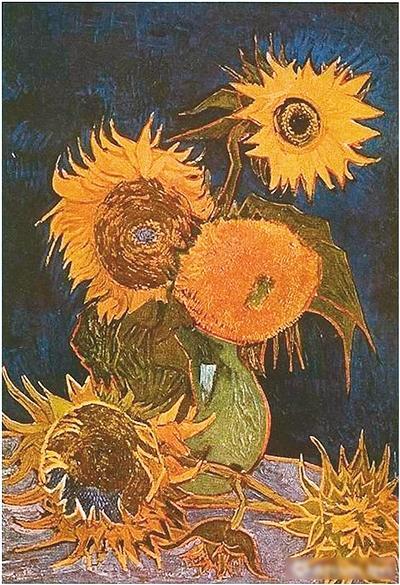 梵高的 向日葵 都开在了哪儿