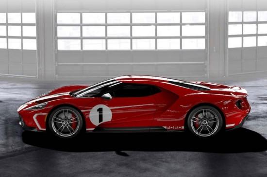 庆祝勒芒赢得耐力赛冠军 福特推出GT'67传承版