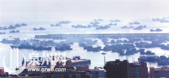 开渔啦!石狮500多艘拖网渔船浩浩荡荡驶出渔港