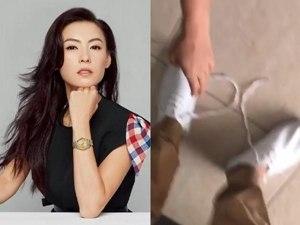 张柏芝买最贵鞋子 万万没想到最后反被自家菲佣嫌弃了