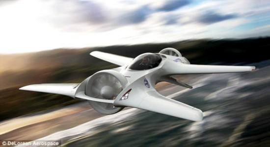 《回到未来》场景成真:DeLorean飞行汽车初具雏形