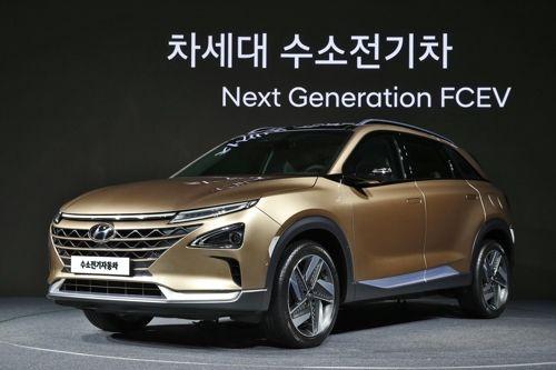 现代明年将推出燃料电池SUV 续航超过580公里