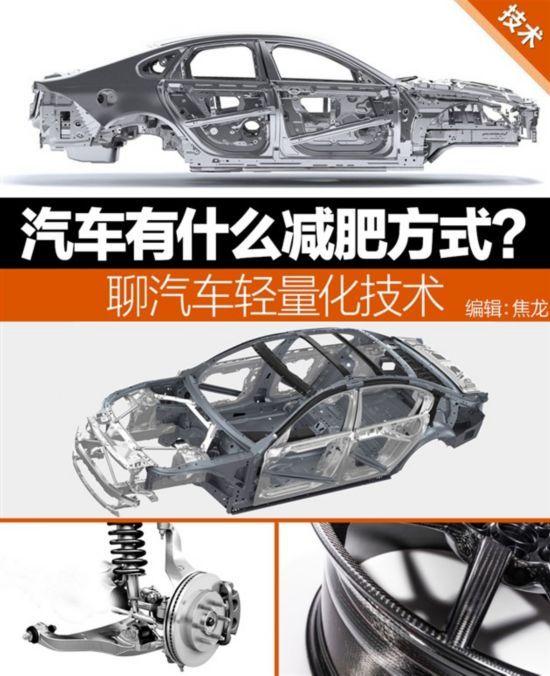 """汽车有什么""""减肥""""方式?聊聊车辆轻量化技术"""