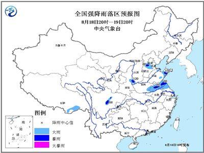 山东气象台18日下午5点发布最新天气预报:-山东周末仍有雨局部暴雨