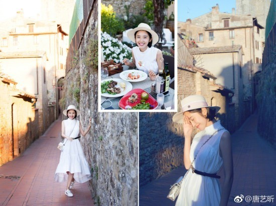 迪丽热巴倪妮高圆圆王丽坤 当红女星私下旅行照谁是最美游客