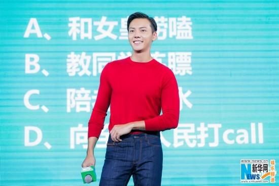 陈伟霆自认天生是演员 期盼与周迅合作