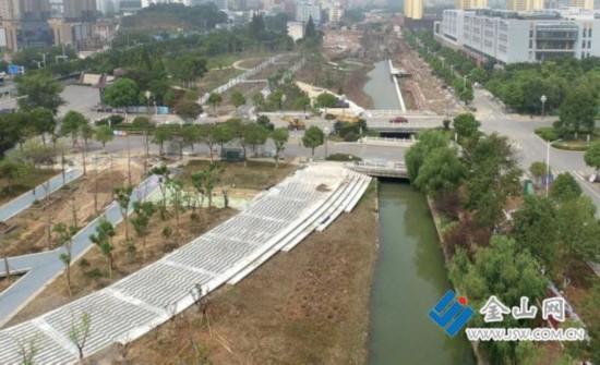 江苏大学海绵校园建设工程预计9月中旬完工