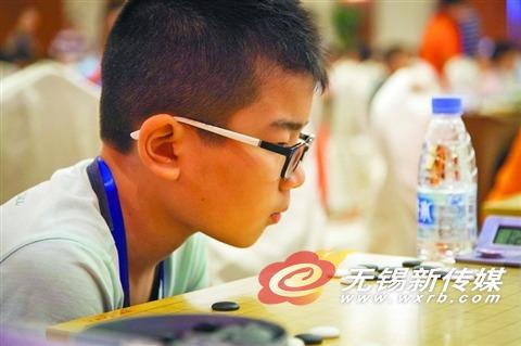 全国少年儿童围棋锦标赛无锡开枰 365人参赛
