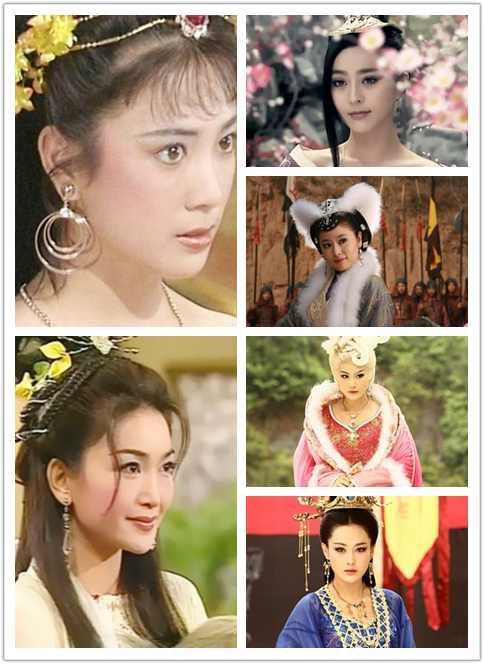影视剧中多版九尾狐,你最喜欢哪一个演员的演绎?