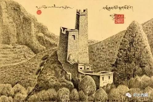 记藏族著名画家吉先加先生