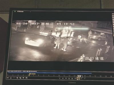 南通保安正常收取停车费遭殴打 警方展开调查