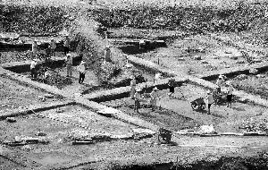 南京考古发掘青石街民国建筑 目前无重大发现