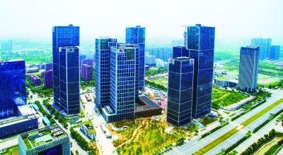 南京河西金融城启用半年多 已入驻420家机构