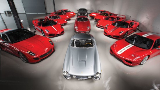 法拉利经典车型组团拍卖 总成交额达1.1亿元
