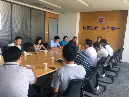 连云港开发区环保局召开环评、检测工作座谈会