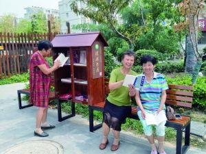 200多个漂流书屋亮相泰州街头 共享通借通还
