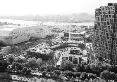 南京建邺河西高端商业综合体9月投用
