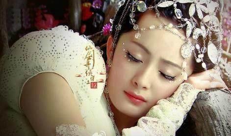 杨幂刘诗诗赵丽颖刘亦菲 谁是古装剧里的睡美人图片