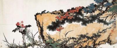 """潘天寿等""""传统派""""艺术大家证明了中国画是进步的"""