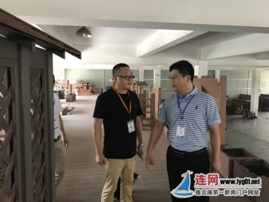 连云港朝阳街道一行赴上海等地开展招商活动