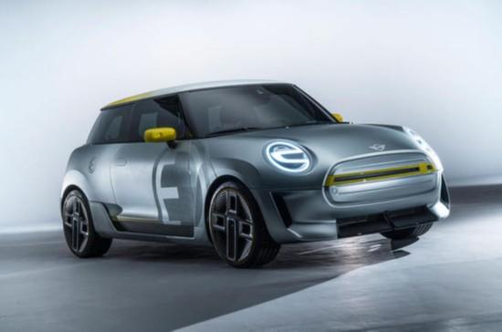 Mini电动概念车预告图公布 全新设计理念前瞻