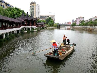 """海安推进""""河长制""""落实 确保每条河道有人管"""