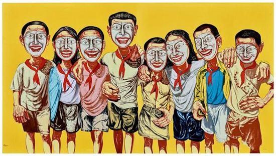 曾梵志1996年的作品《面具系列1996 No.6》在保利香港2017春拍中以10502万港元(9357.2万元)售出,而曾梵志也是2017年春拍唯一一位总成交额过亿的在世当代艺术家。