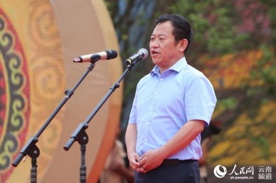 云南漾濞核桃节开幕 70%农户靠核桃脱贫致富