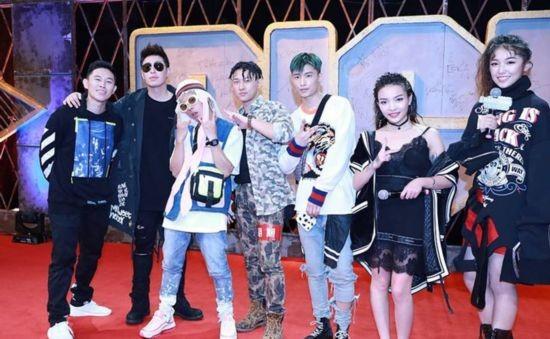 《中国有嘻哈》总决赛录制