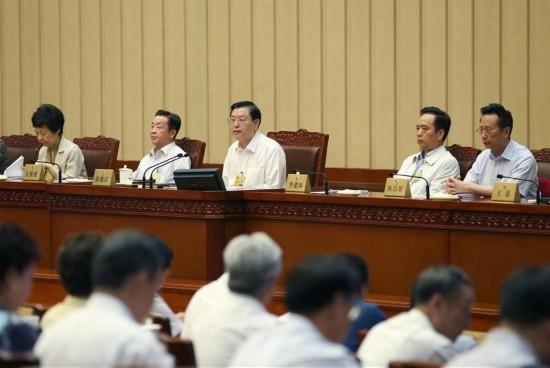 CHINA-BEIJING-ZHANG DEJIANG-NPC-SESSION-CLOSING(CN)