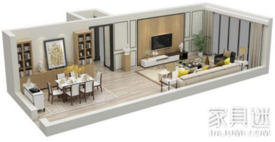客厅步入多功能化时代,个性需求大增