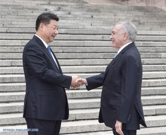 CHINA-BEIJING-BRASIL-POLITICA-XI JINPING