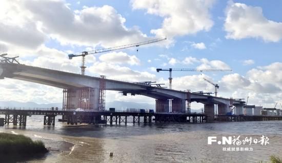 福州绕城高速东南段建设传捷报 两个控制性工程有了新突破