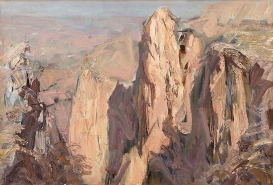 当代著名油画家,美术教育家,中国本原文化研究学者.