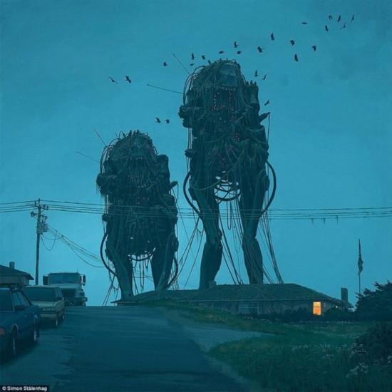 机器人与人类交战后的世界会是什么样?