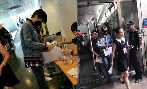 王俊凯低调报到 早早到校不给媒体蹲点的机会