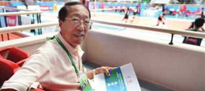 近40年里采访了9届全运会白金贵:国运强全运盛