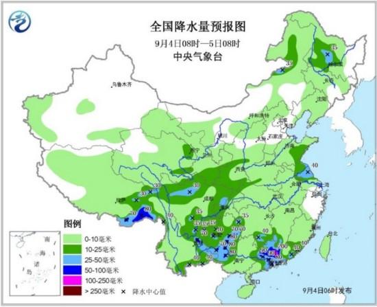 """台风""""玛娃""""昨晚登陆广东 粤闽赣湘仍有较强降雨"""