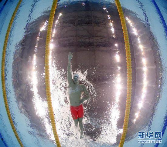 """(全运会・多棱镜)(5)游泳――蔚蓝""""海洋"""""""