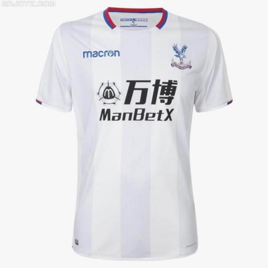 水晶宫发布2017-18赛季第二客场球衣