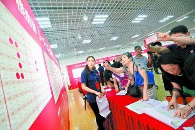 北京市望坛棚改开始选房年内回迁楼动工