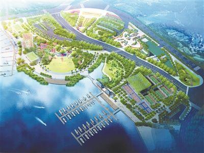 鹿回头滨河公园预计11月底完工