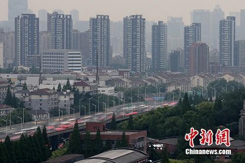 资料图:南京河西一处楼盘。<a target='_blank'  data-cke-saved-href='http://www.chinanews.com/' href='http://www.chinanews.com/' _fcksavedurl='http://www.chinanews.com/'></p></table><p  align=