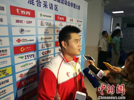 全运会男子举重105公斤级杨哲夺金卫冕目标四连冠