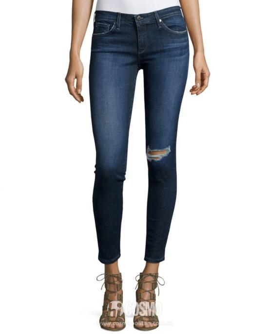 牛仔裤来自Ag 售价647元 可从美国LastCall购买
