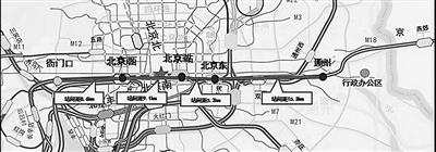 北京市郊铁路城市副中心线年底开通