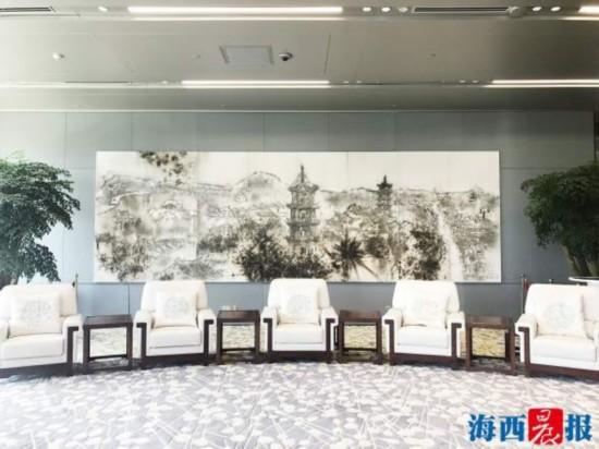多位闽籍艺术家参与创作 探秘厦门会晤主会场的艺术精品