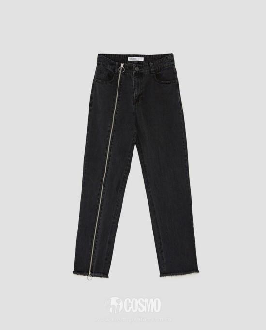 牛仔裤来自ZARA 售价299元 可从品牌官网购买
